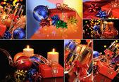 Christmas set — Stock Photo