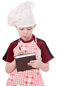 Boy chef — Stock Photo
