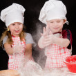 Stock Photo: Two cooks