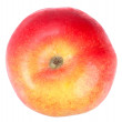 Stock Photo: Fresh red-yellow apple