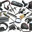 Abstract set of black objects — Stock Photo #8868302