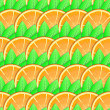 Background with citrus-fruit of orange slices — Stock Photo #8989053