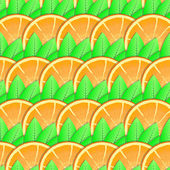 Background with citrus-fruit of orange slices — Stock Photo