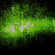 Green geometric tech background. — Stock Photo #10021794