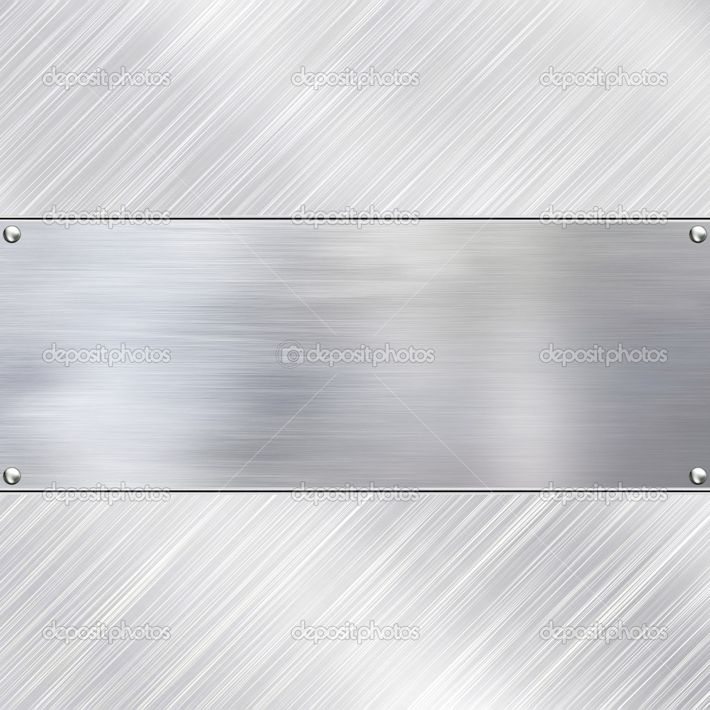 Metal plate steel background. — Stock Photo #10022825