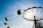 Carousel against sky — Stock Photo
