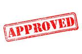 Tampon approuvé — Vecteur