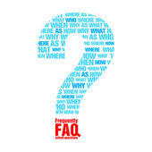 FAQ metaphor — Vector de stock