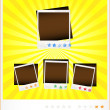 Set template old photoframeworks — Stock Vector #9672641