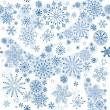 Seamless pattern of winter — Stock Vector