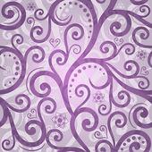 Seamless violet valentine pattern — Stock Vector