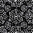 Royalty-Free Stock Vector Image: Black seamless pattern