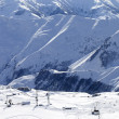 Views of ski resort — Foto Stock