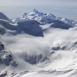 Caucasus Mountains. View from mount Elbrus. — Stock Photo #8769379