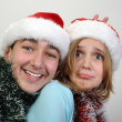 Xmas children - Stock Photo