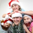 Xmas children — Stock Photo