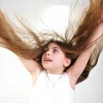 Long hair — Stock Photo