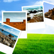 Stock Photo: Summer time, abstract travel backgrounds
