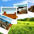 Summer time, abstract travel backgrounds — Stock Photo