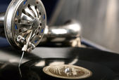 Vintage phonograph — Stock Photo