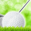 Abstract golf sport art backgrounds — Stock Photo #9697406