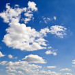Sblue sky and clouds — Stock Photo