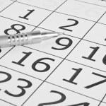 Calendar — Stock Photo #9590403