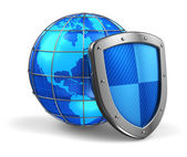 Global and internet security concept — Stock Photo
