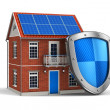 Stok fotoğraf: Home security concept