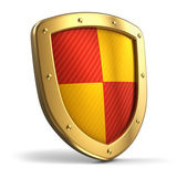 Golden shield — Stockfoto