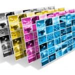 koncepcja druk CMYK — Zdjęcie stockowe #8311216