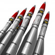 Nuclear missiles — Stock Photo