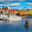 Scenic view of the Old Town in Stockholm, Sweden — Stock Photo #8643733