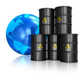 Oil trading concept — Stock Photo
