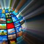 Media technologies concept — Stock Photo