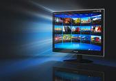 Internet ve telekomünikasyon kavramı — Stok fotoğraf