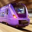 High speed train with motion blur — Stock Photo