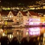 dekoracje z bergen, Norwegia — Zdjęcie stockowe