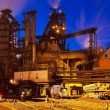 Stock Photo: Metallurgical plant