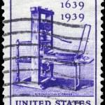 Постер, плакат: USA CIRCA 1939 Printing Tercentenary