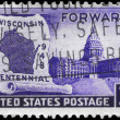 USA - CIRCA 1948 Wisconsin Statehood - Photo