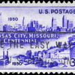 USA - CIRCA 1950 Kansas City - Stock Photo