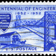 USA - CIRCA 1952 George Washington Bridge — Stock Photo