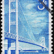 Stock Photo: US- CIRC1958 Mackinac Bridge