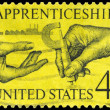 USA - CIRCA 1962 Apprenticeship - Stock Photo