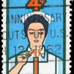 美国-大约在 1961年护理 — 图库照片