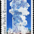 USA - CIRCA 1972 Old Faithful - Foto de Stock  