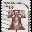USA - CIRCA 1975 Liberty Bell — Stock Photo #10039591