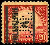 Eua - por volta de 1923 golden gate — Foto Stock