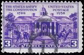 Usa - ca. 1938 iowa city — Stockfoto
